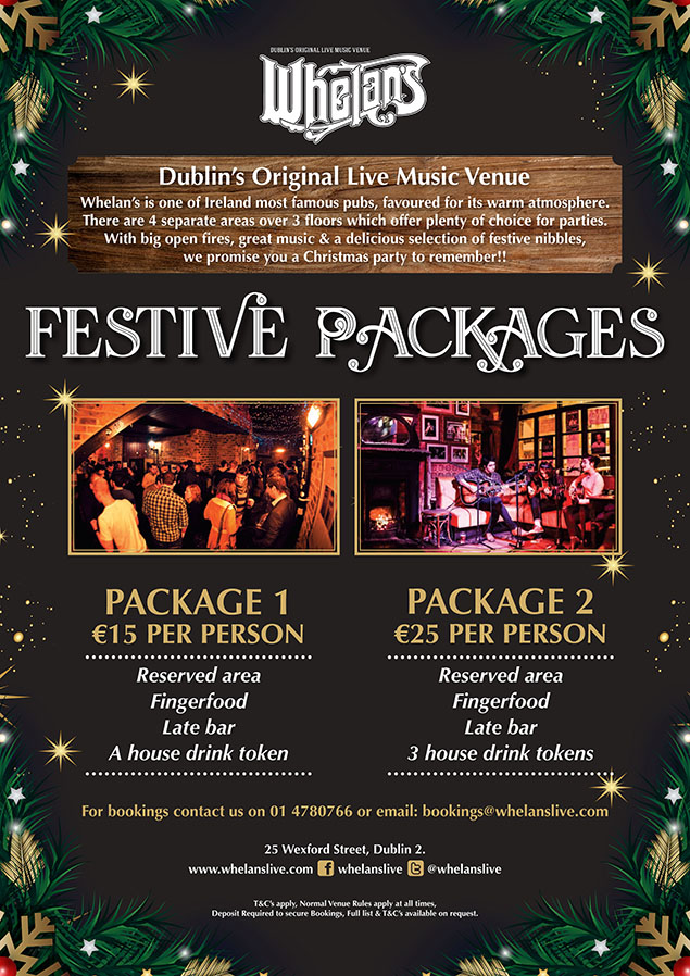 Whelans Christmas Package 2018 small