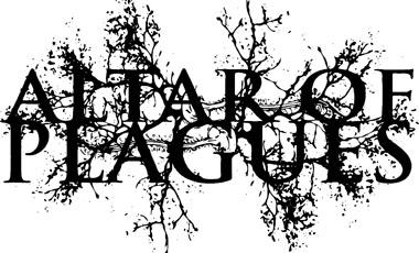 alter of plagues logo p