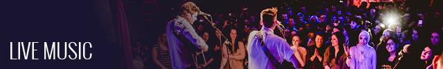 Whelans live music banner