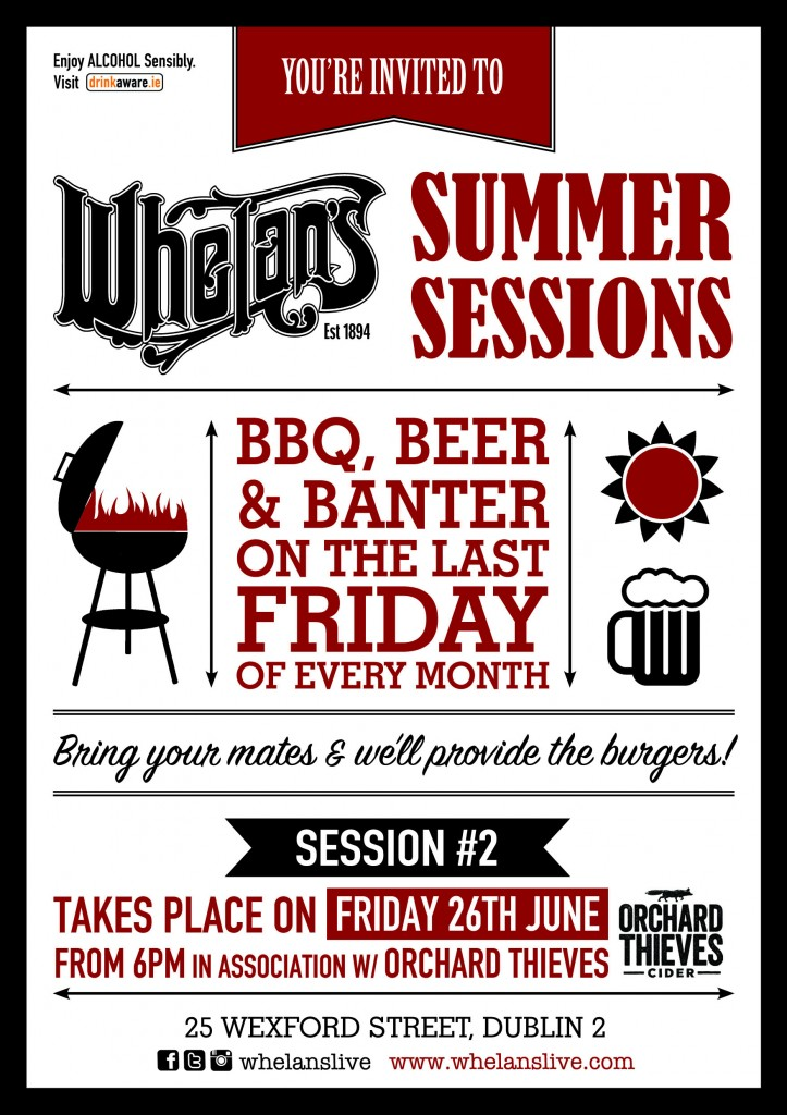 Whelans Summer Sessions A5 session 2