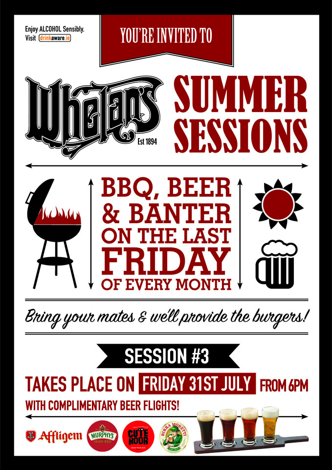 Whelans Summer Sessions A5 session 3