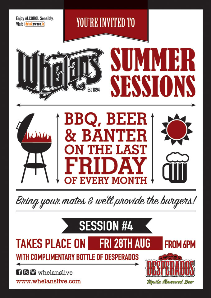 Whelans Summer Sessions A5 session 4 web